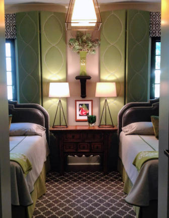 Interior design of bedrooms by Terry Lowdermilk Interiors