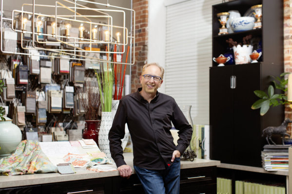 Terry Lowdermilk uses a hands-on approach to each part of the design process
